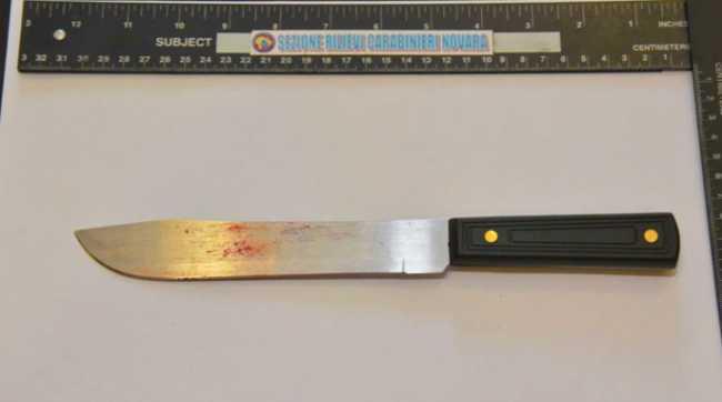 Novara, profugo ospite parrocchia armato di coltello semina il panico