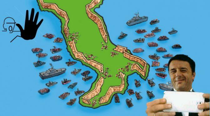 RENZI PARLA, ONG SCARICANO ALTRI 1.000 CLANDESTINI IN ITALIA