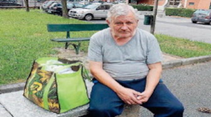 """""""Mi hanno pignorato la casa"""", pensionato di 70 anni ora vive per strada"""