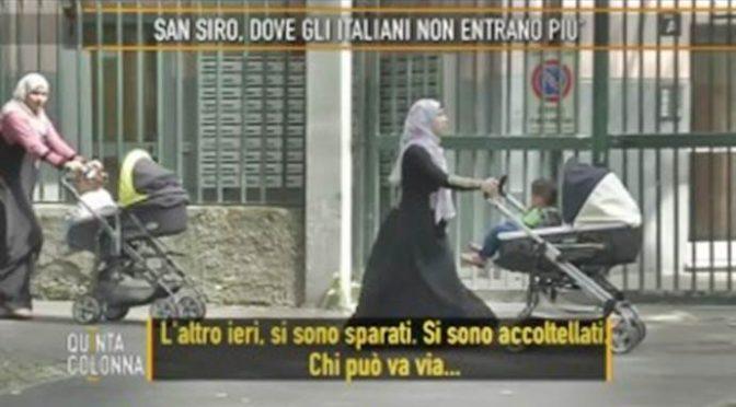 Milano, il quartiere dove gli italiani non possono entrare