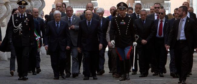 """""""Napolitano ha 45 agenti di scorta"""", lui: """"Normale proteggermi"""""""