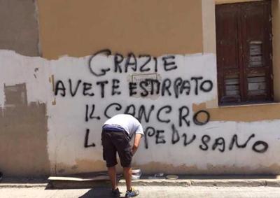 """Lampedusa festeggia: """"Come si sta bene senza Tunisini"""""""