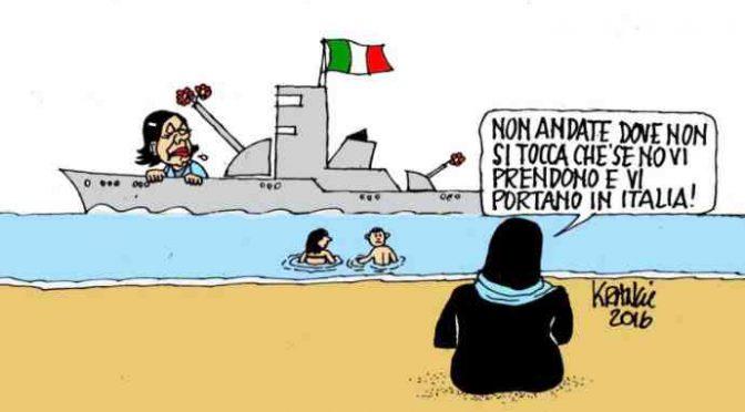 Marina libica 'ruba' 800 clandestini alle Ong