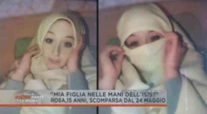 Foto italiana rapita isis