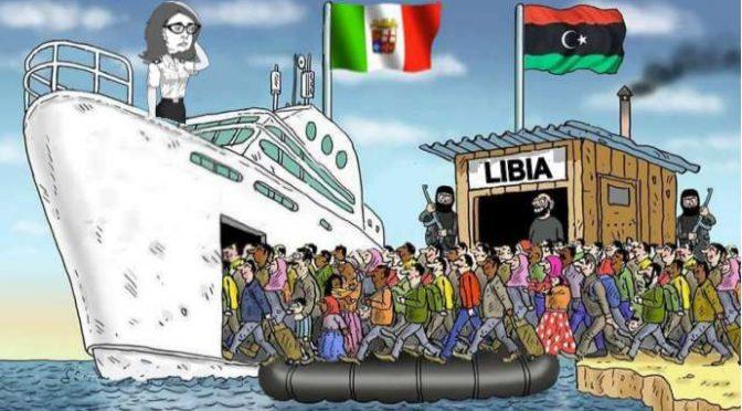 """Comandante Marina Libia: """"Salvini fermi le Ong, sono taxi del mare"""""""