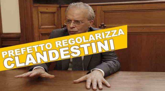 TORINO, PREFETTO SI INVENTA UNA LEGGE E SOSTITUISCE LAVORATORI ITALIANI CON CLANDESTINI