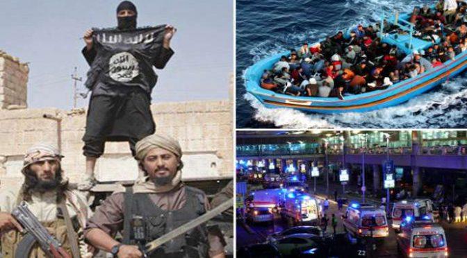 SCOPERTI 5 TERRORISTI ISLAMICI SU BARCONE