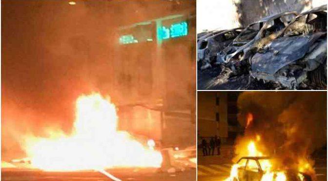Parigi: nuovi francesi assaltano Polizia, incendiano auto e cassonetti – VIDEO