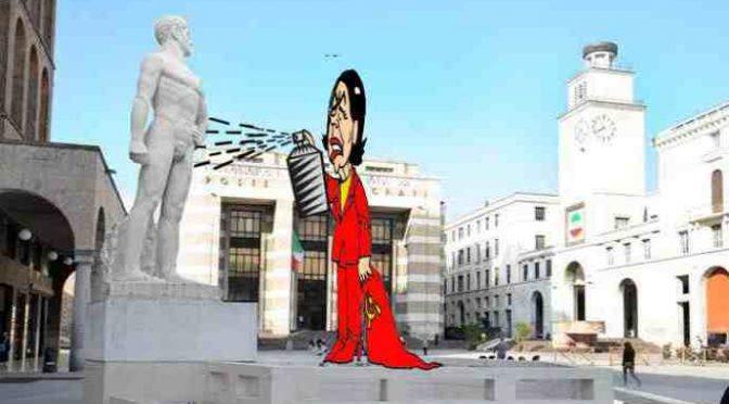 """Boldrinismo, dopo l'arte fascista ora vogliono 'colorare' il David: """"Bianco è razzista"""""""