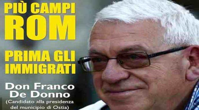 Don Franco, il prete della Caritas che odia gli Italiani e aiuta solo Rom e Immigrati