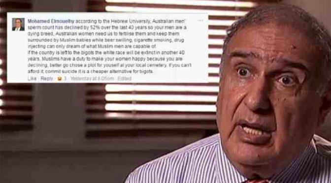 """Musulmano: """"Siamo qui per fertilizzare le vostre donne e riempirle di bambini islamici"""""""