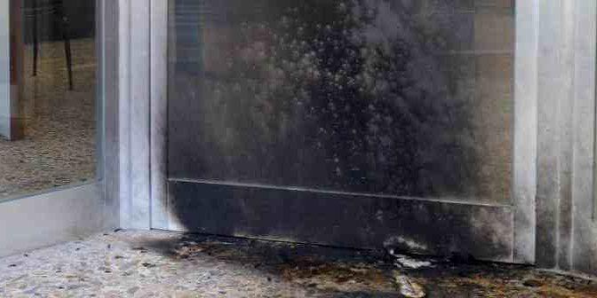 Attacco molotov contro sede CasaPound