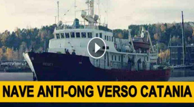 Nave anti-Ong verso Catania, PD vuole impedire attracco