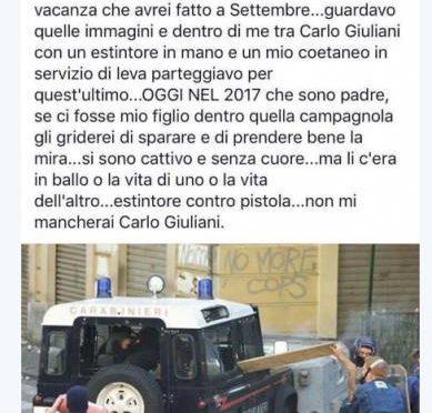 G8 Genova, poliziotti in rivolta: non si celebri atto criminale Giuliani