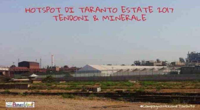 """Clandestini esigono aria pura: """"Taranto non fa per loro"""""""