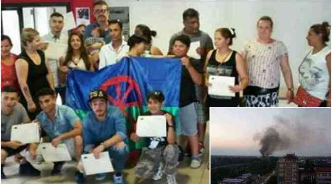 Torino: Zingari lanciano pietre contro lavoratori, feriti e auto vandalizzate