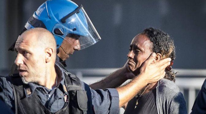 In palazzo occupato da Eritrei trovati 20 jihadisti islamici