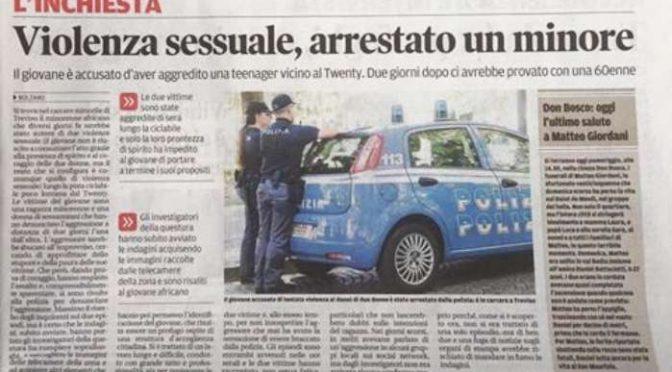 Bolzano, Profugo scatenato: 2 stupri in 2 giorni