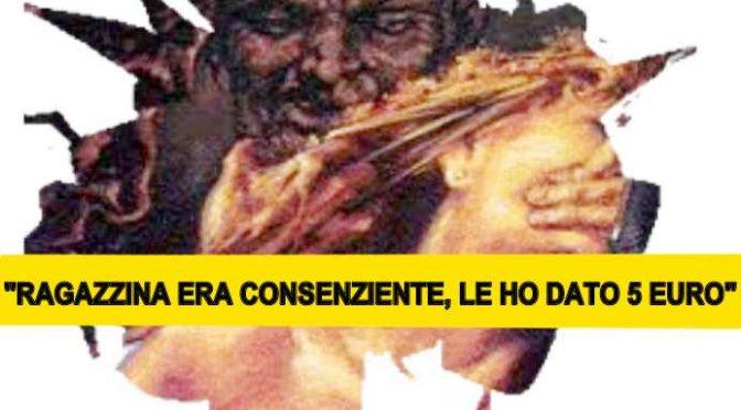 """Profugo si difende: """"La ragazzina era consenziente, le ho dato 5 euro"""", magistrato lo libera"""