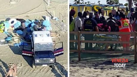 Abusivi assaltano carabinieri, maggiore preso per il collo da Africano
