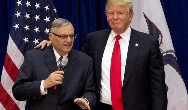 Trump grazia lo sceriffo Joe, incubo dei clandestini