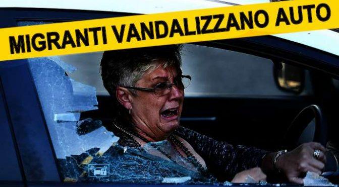 NOTTE DI GUERRIGLIA: PROFUGHI SPRANGANO AUTO, RESIDENTI TERRORIZZATI