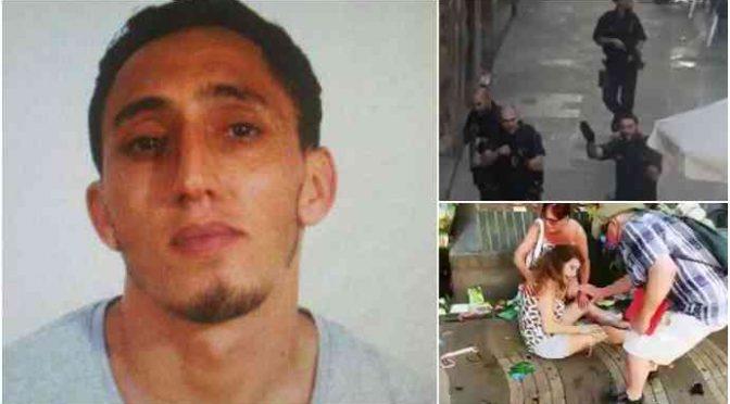 Barcellona: 1 terrorista islamico abbattuto, 1 arrestato e 1 in fuga