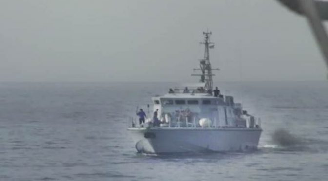 LIBIA: GUARDIA COSTIERA SPARA CONTRO NAVE ONG – VIDEO
