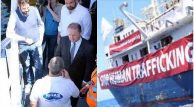Malta aiutava l'Ong a scaricare clandestini in Italia