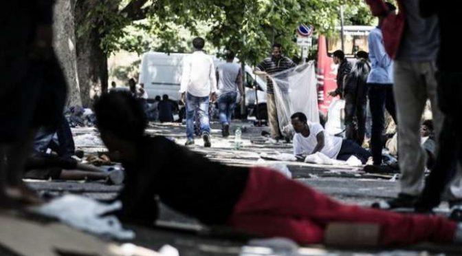 STUPRATA E LEGATA AD UN PALO: SI CERCA GIOVANE MIGRANTE A ROMA
