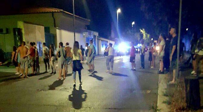 Bambine italiane molestate da profughi albanesi, gente in strada a Roma
