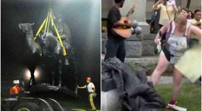 Iconoclasti di tutto il mondo unitevi: ISIS, Boldrini e gli Antifà abbattono le statue