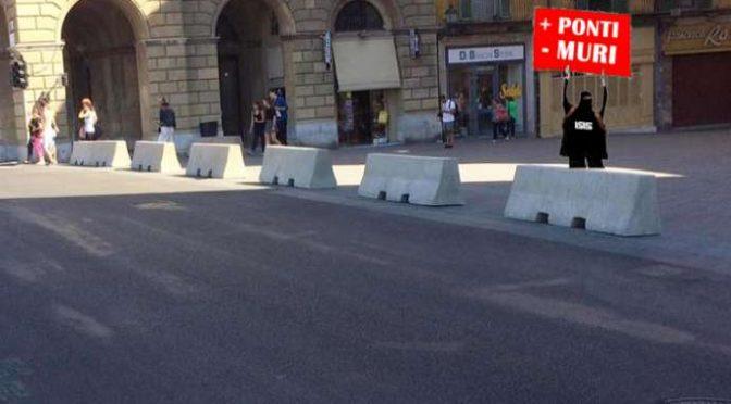 Prigionieri dell'Islam: trincee di cemento in città toscane