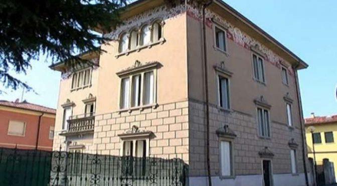 Profughi in lussuosa villa liberty in centro