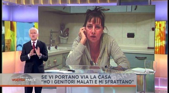 """Roma: disabili 90enni sfrattati per """"fare posto"""", casa ad Eritrei – VIDEO"""
