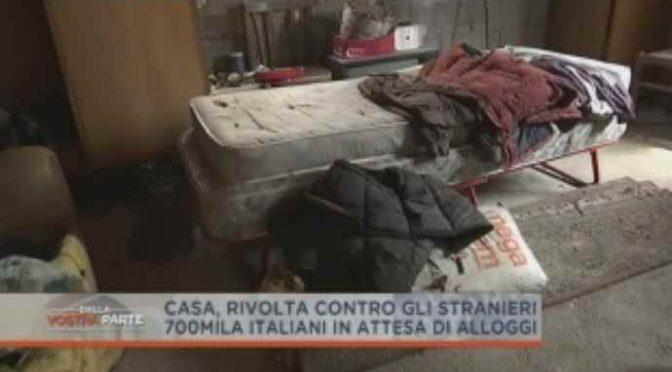 700 mila italiani senza casa, governo la dà a 70 mila africani – VIDEO