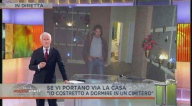Nella città dei profughi un italiano vive tra le tombe – VIDEO