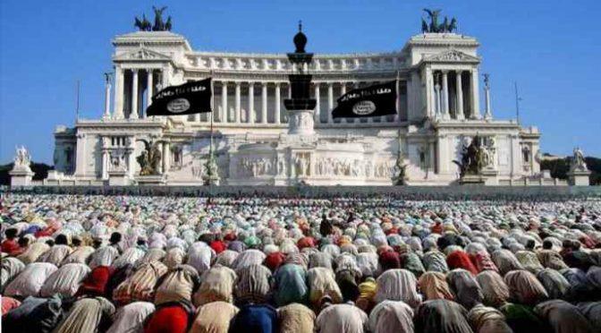 Conquista islamica in atto: il nemico è tra noi, sempre più numeroso