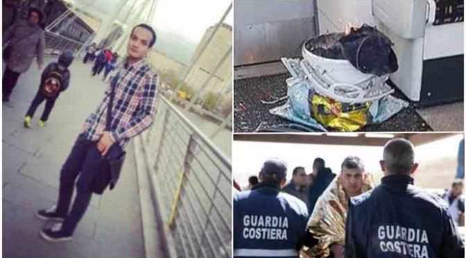 Londra, Profugo terrorista sbarcato in Italia – FOTO