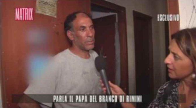 """Stupro Rimini, Padre branco: """"Cose che capitano, presto liberi"""" – VIDEO"""