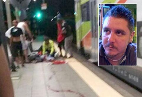 """Ferroviere massacrato col machete: """"Italiani si fermano, Immigrati no"""""""