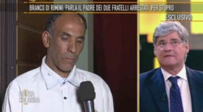 Rimini, padre stupratori concede interviste dai domiciliari – VIDEO