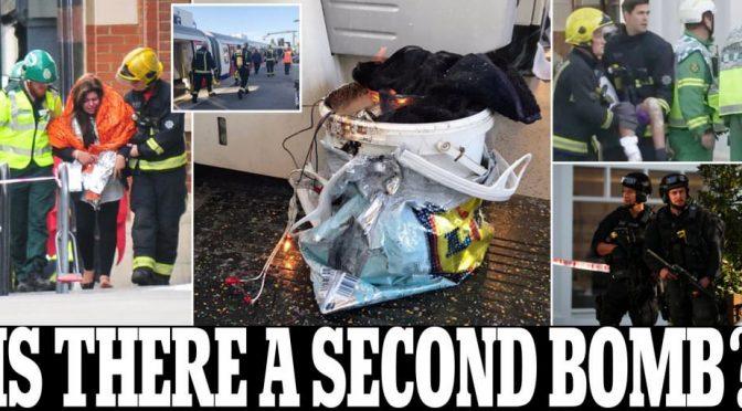 BOMBA SULLA METRO, TENTATA STRAGE ISLAMICA A LONDRA – VIDEO