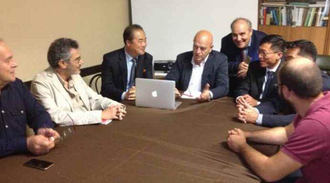Compagni: Rizzo incontra delegazione nordcoreana – FOTO