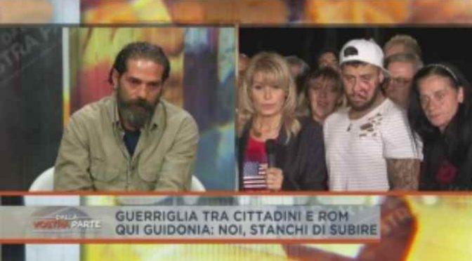 Guidonia, Rom si sentono padroni: cacciati giornalisti – VIDEO