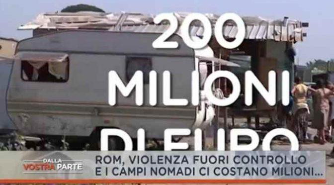 Rom, ci costano 200 milioni l'anno solo a Roma – VIDEO