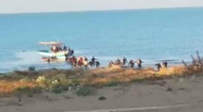 Assalto afroislamico in Sicilia: sbarcano e si dileguano – VIDEO