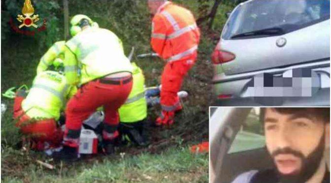 Migrante posta video mentre guida: si schianta e muore sul colpo …