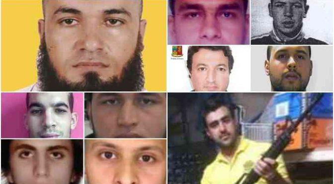 Ecco gli 11 terroristi islamici sbarcati in Italia