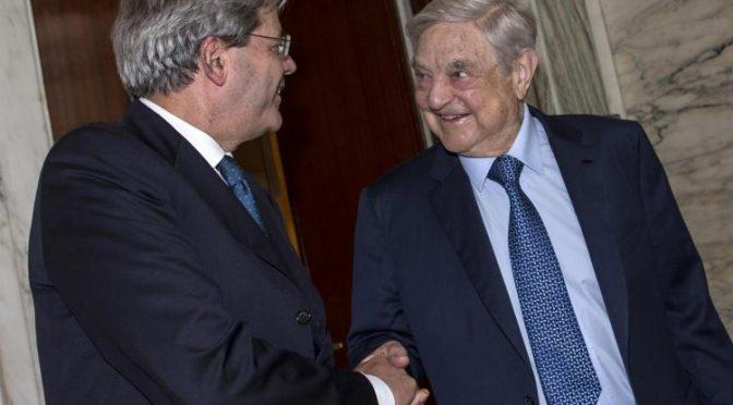 """""""Soros vuole rovesciare governo slovacco"""""""